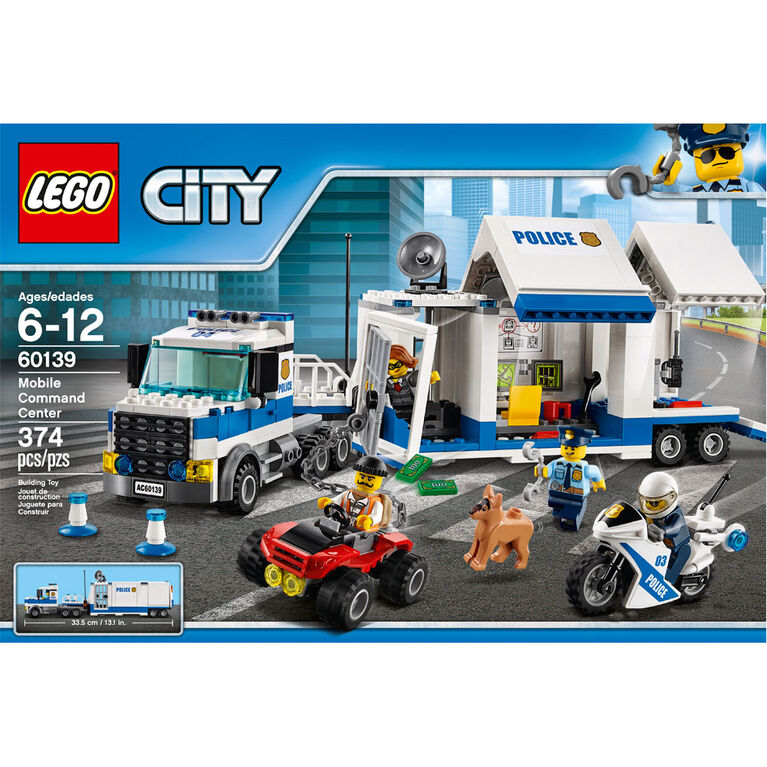 LEGO City Police Mobile Command Center 60139
