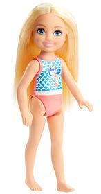 Barbie Club Chelsea Beach Doll, 6-inch, Mermaid