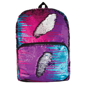 S. Lab Magic Sequin Backpack-Multi Color/Silver