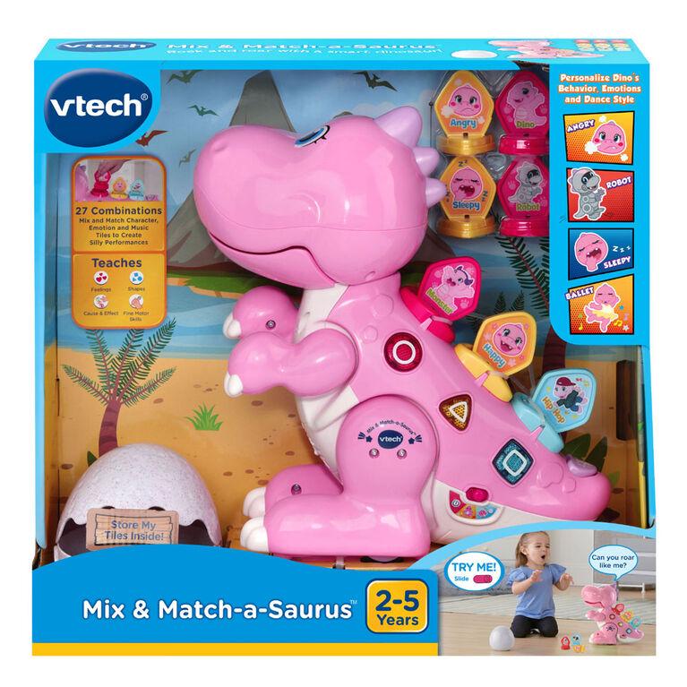 VTech Codi, mon robot-dino rigolo - Rose - Notre exclusivité - Édition anglaise