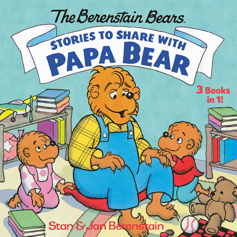 Stories to Share with Papa Bear (The Berenstain Bears) - English Edition