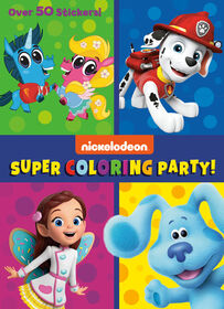 Super Coloring Party! (Nickelodeon) - Édition anglaise