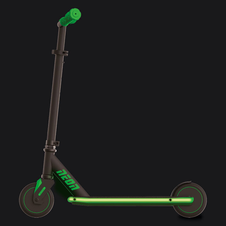 Neon Viper Kids Scooter - Green - English Edition