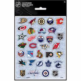 NHL Fans Sticker Sheets, 4 pieces