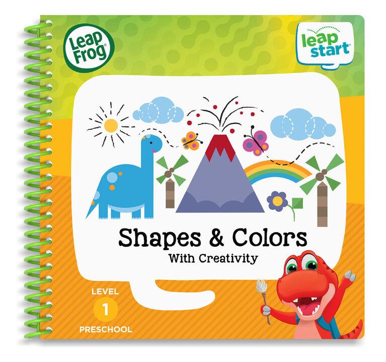 LeapFrog LeapStart Preschool Shapes & Colours Activity Book - English version