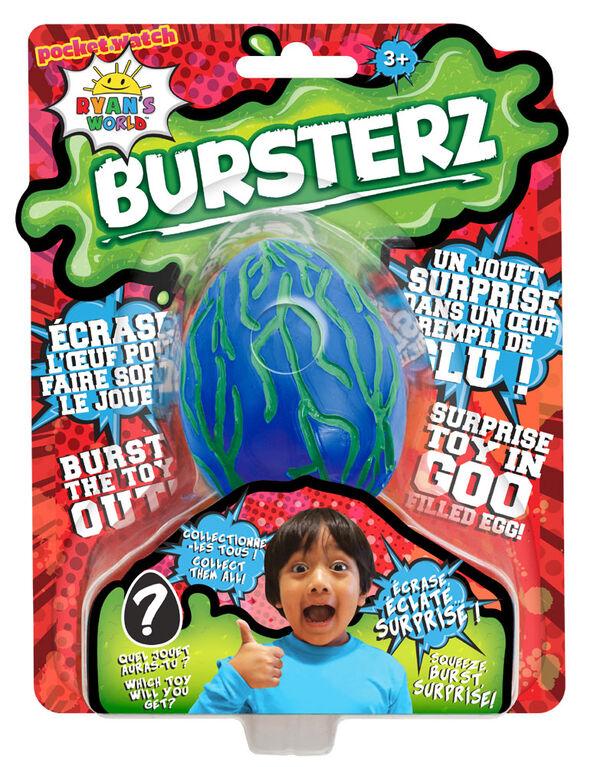 Ryan's World Bursters Goo Filled Egg - Dark Blue