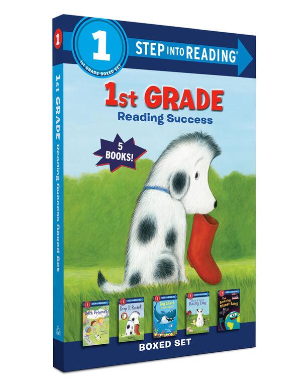 1st Grade Reading Success Boxed Set - English Edition
