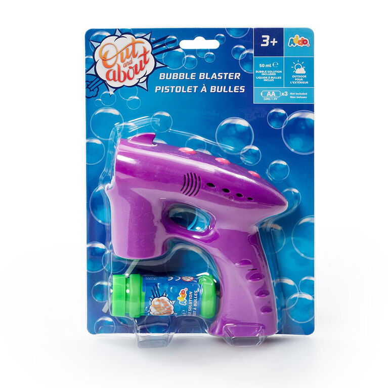 Out and About Bubble Blaster Purple - R Exclusive - English Edition