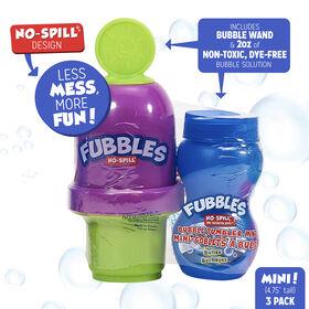 Mini gobelet à bulles anti-éclaboussures Fubbles