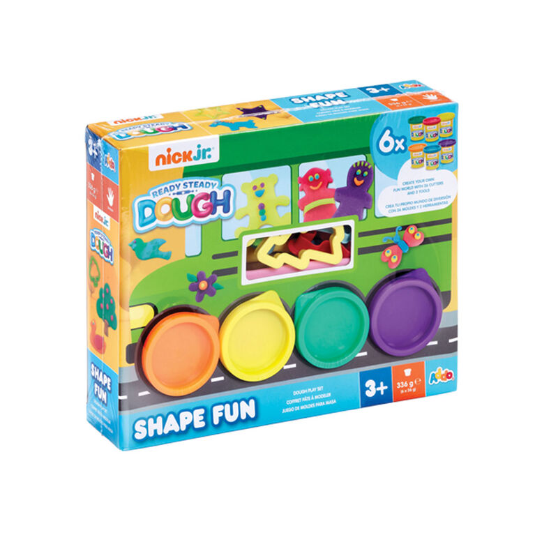 Nick Jr. Ready Steady Dough Shape Fun Green Bus Accessories Set - R Exclusif