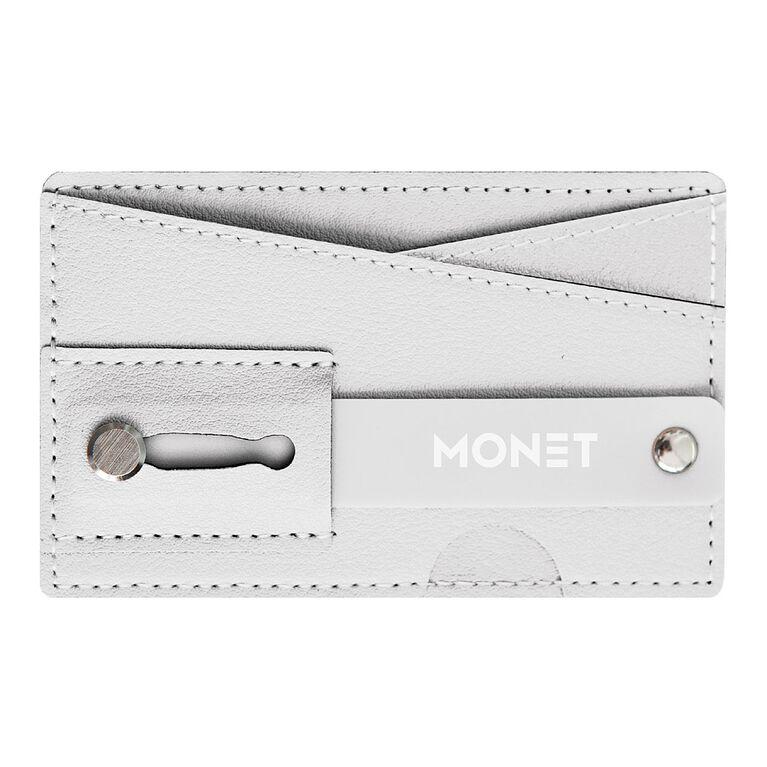 Monet Phone Wallet Grip Stand White