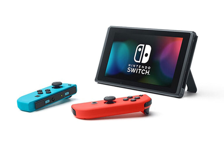 Nintendo Switch - Red Blue Console