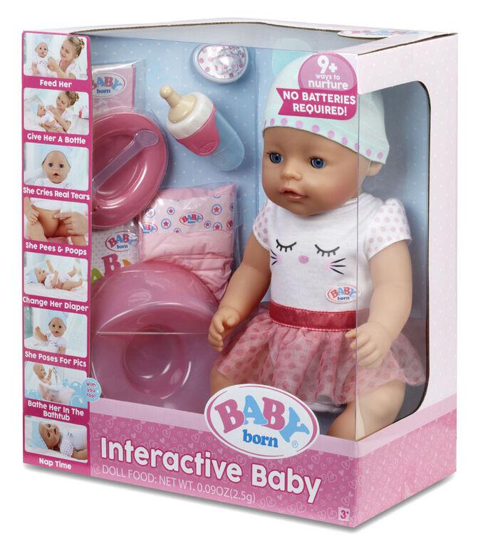 BABY born Interactive Doll