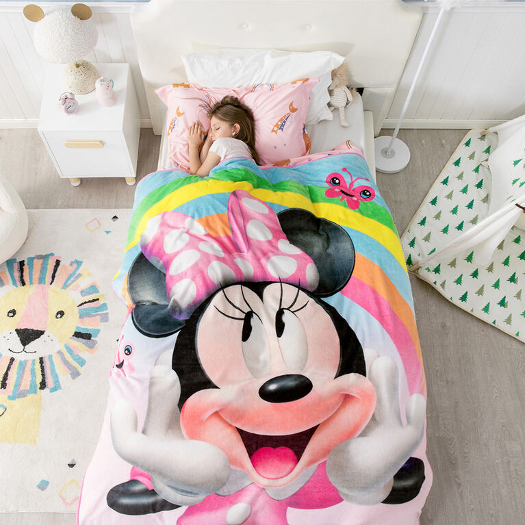 Couverture Polaire Disney Minnie Mouse, 60 x 80 pouces