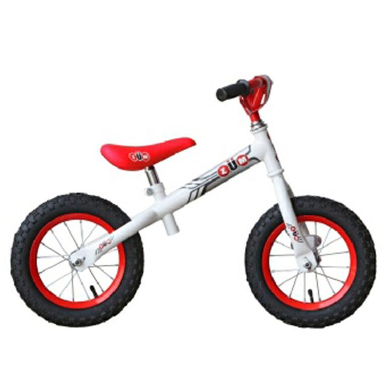 ZUM Toyz, Balance Bike, White/Red