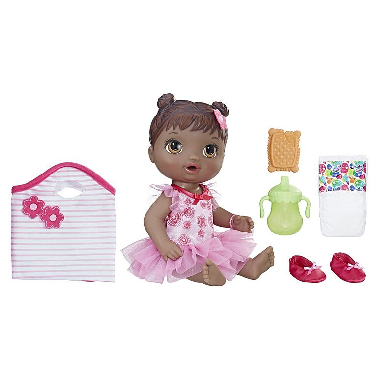 Baby Alive Dance Class Baby (Black Sculpted Hair) - R Exclusive