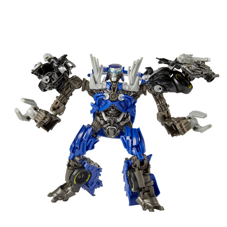 Transformers Toys Studio Series 63 Deluxe Class - Dark of the Moon Movie Topspin Action Figure
