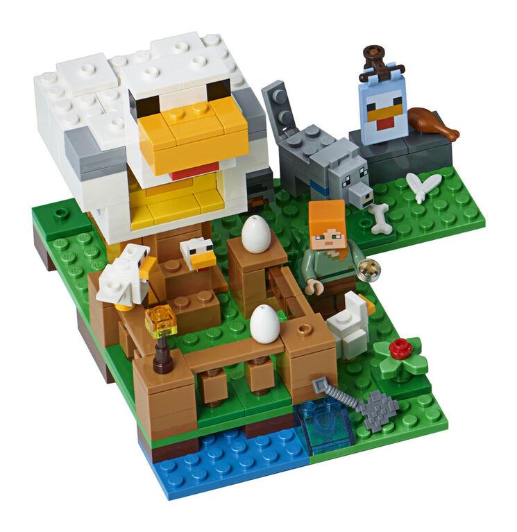 LEGO Minecraft Le poulailler 21140