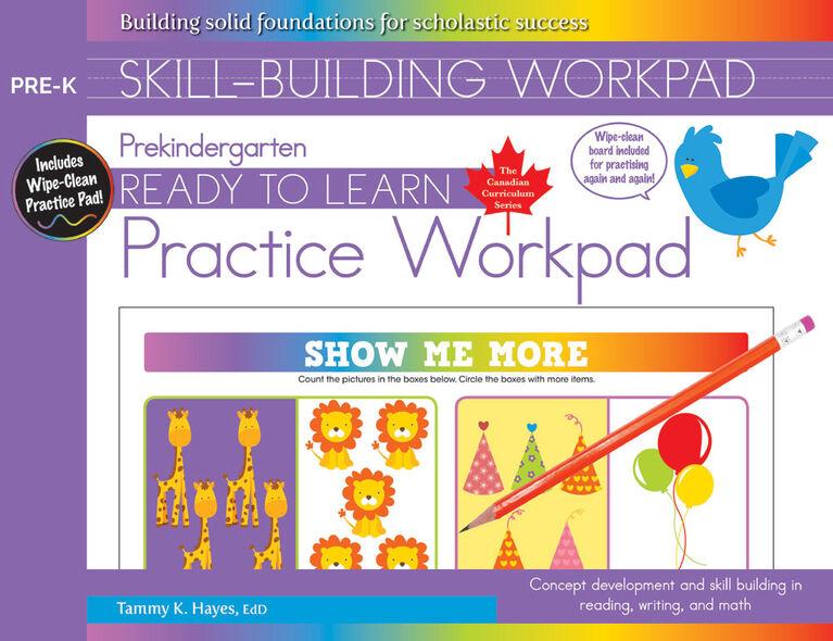 Pre-K Skill Building Workpad - English Edition