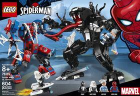 LEGO Super Heroes Spider Mech vs Venom 76115