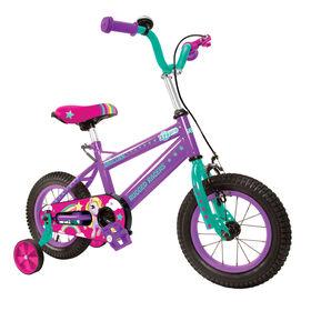 Rugged Racer 12 Inch Kids Bike with Training Wheels- Unicorn - English Edition