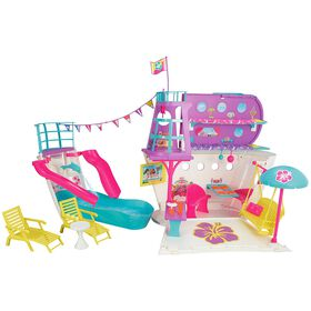 Barbie Pink Passport Cruise Ship Play Set - R Exclusive