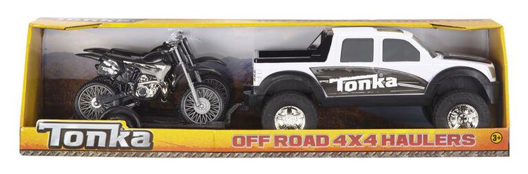 Tonka Off Road 4X4 Hauler - Motorcycle - Styles Vary