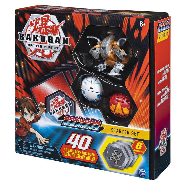 Bakugan, Battle Brawlers Starter Set with Bakugan Transforming Creatures, Aurelus Nobilious
