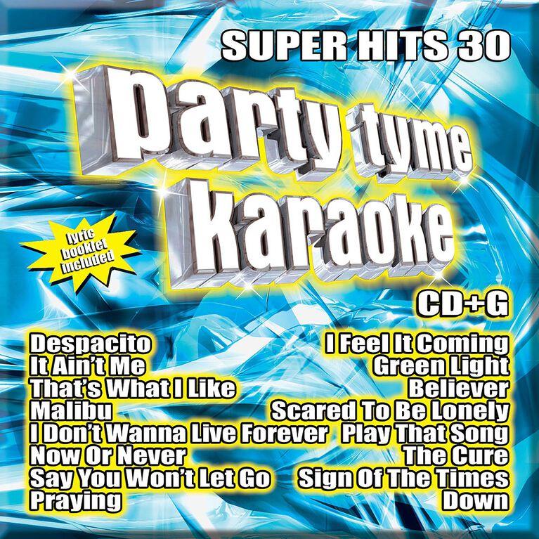 CD-Karaoke Super Hits 30