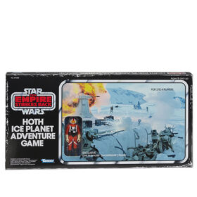 Star Wars The Empire Strikes Back Hoth Ice Planet Adventure Board Game - English Edition