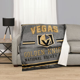 NHL Team Throw- Vegas Golden Knights