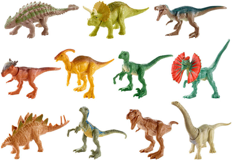 Jurassic World Mini Dino Figures - Styles May Vary
