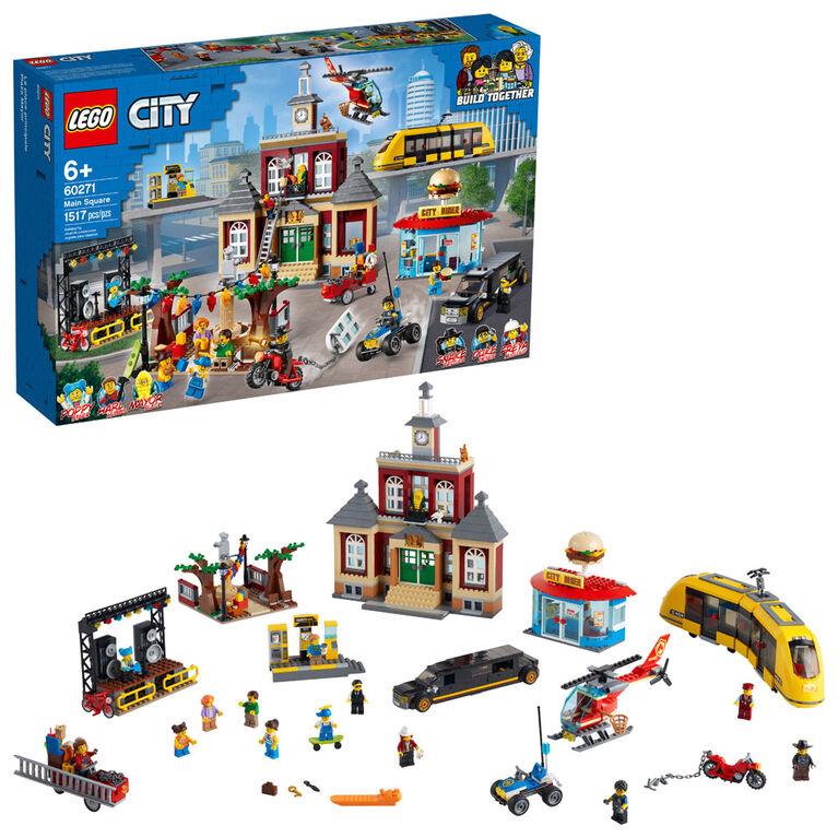 LEGO City Town La place du centre-ville 60271