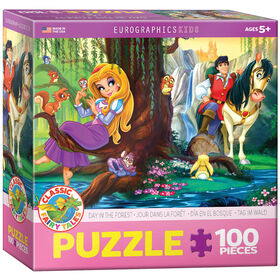 Eurographics Day in the Forest 100 Piece Puzzle