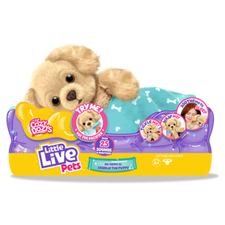 Little Live Pets - Cozy Dozys  - Charlie The Puppy