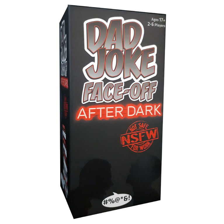Ultra PRO - Dad Joke Face-Off After Dark Card Game - English Edition