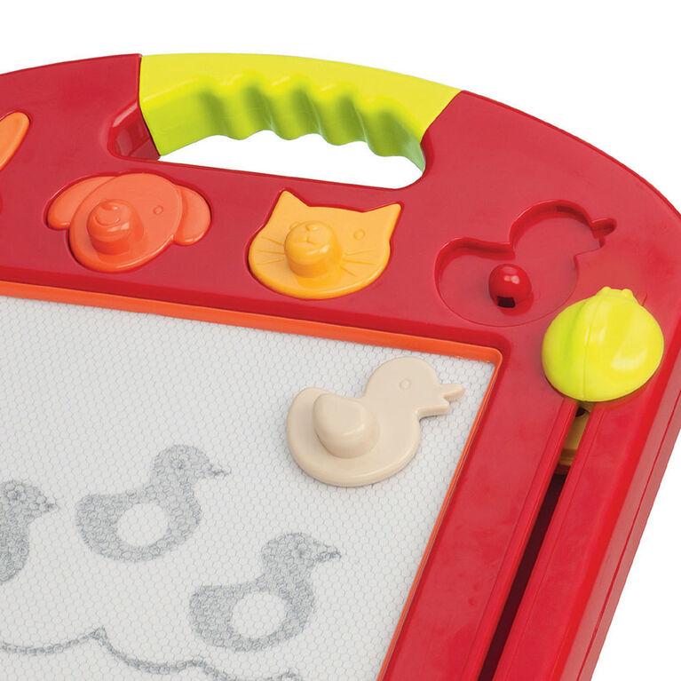 Toulouse Laptrec, B. Toys Tableau à dessin magnétique