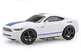 New Bright 1:24 R/C Full-Function Sport Car, Ford Mustang, White