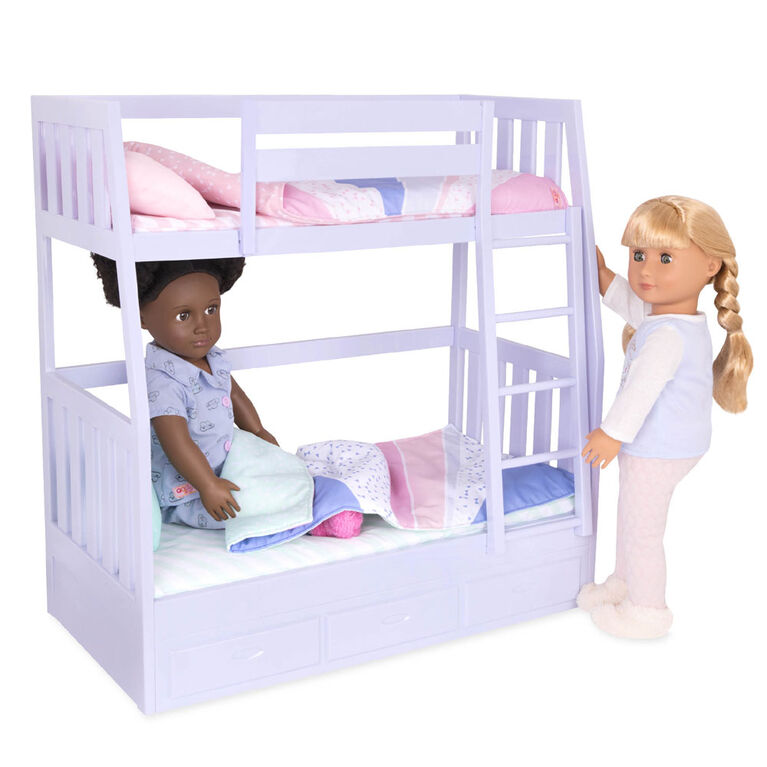 Our Generation Dream Bunks Bunk Beds Accessory Set For 18 Inch Dolls Toys R Us Canada