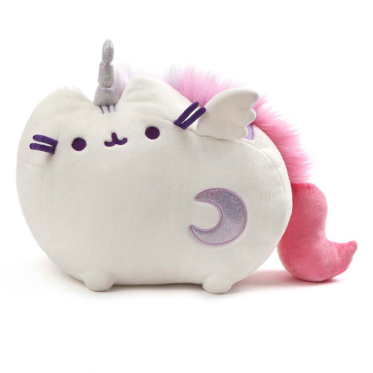 GUND Super Pusheenicorn Pusheen Unicorn Cat Plush Stuffed Animal, White, 9 Inch