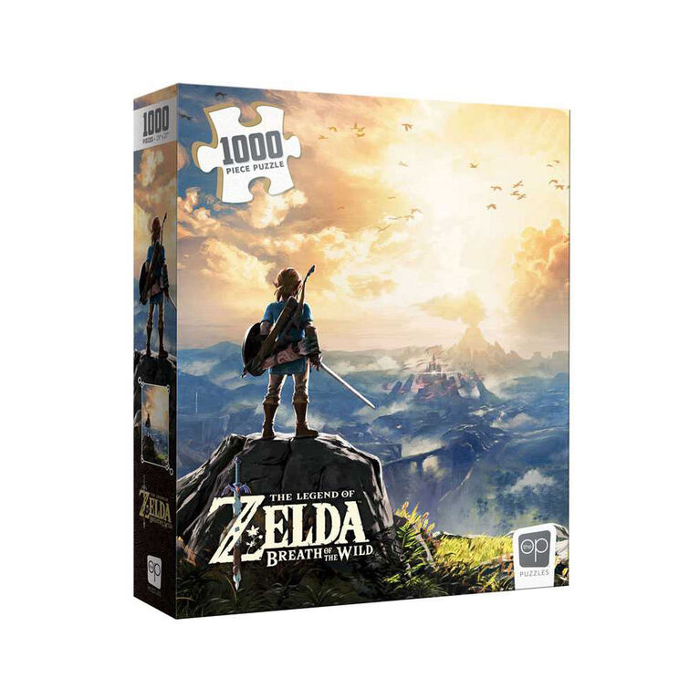"""The Legend of Zelda """"Breath of the Wild"""" 1000 Piece Puzzle - English Edition"""