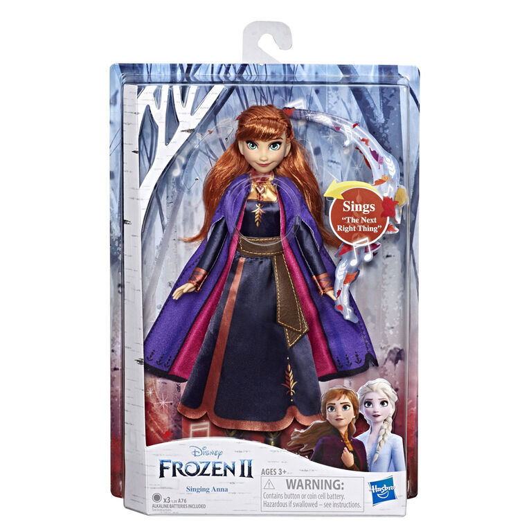 Disney Frozen Singing Anna Fashion Doll with Music