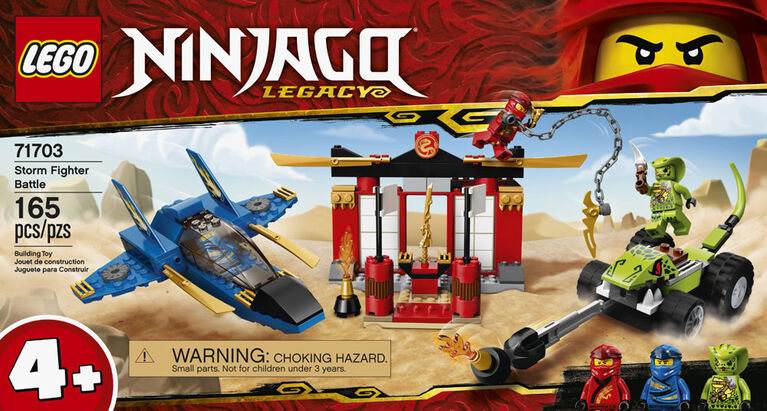 LEGO Ninjago Storm Fighter Battle 71703 - French Edition