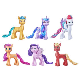My Little Pony: A New Generation Movie Shining Adventures Collection with Deputy Sprout Toy