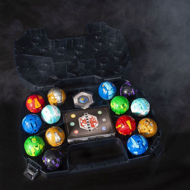 Bakugan, Baku-storage Case (Black) for Bakugan Collectible Creatures