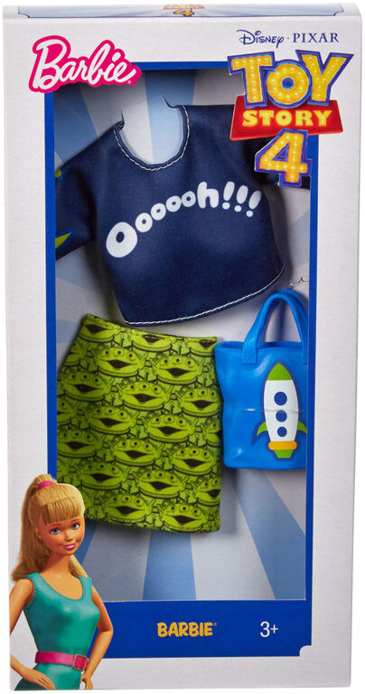 Barbie Toy Story Alien Skirt & Top Fashion Pack