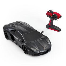 RC 1:10 Scale Lamborghini Aventador Coupe Black - R Exclusive