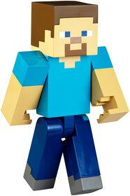 Minecraft - Figurine articulée à grande échelle de 21,6 cm (8,5 po) - Steve.