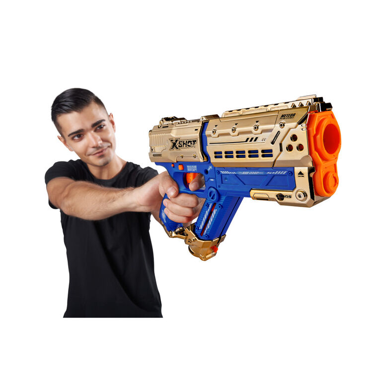 X-Shot Chaos Royale Edition 2PK Meteor Round Blaster (24 Rounds) - R Exclusive