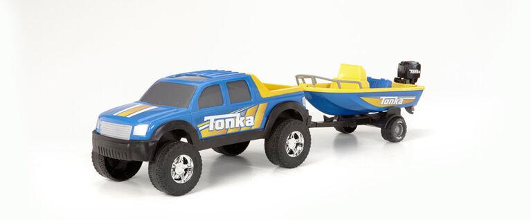 Tonka Off Road 4 X 4 Hauler - Boat